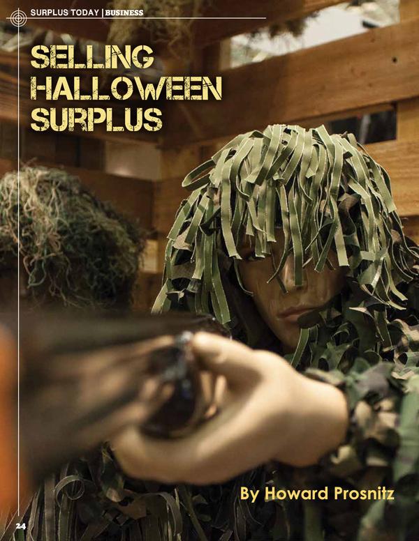 October Surplus Today Landing Page - Halloween Surplus