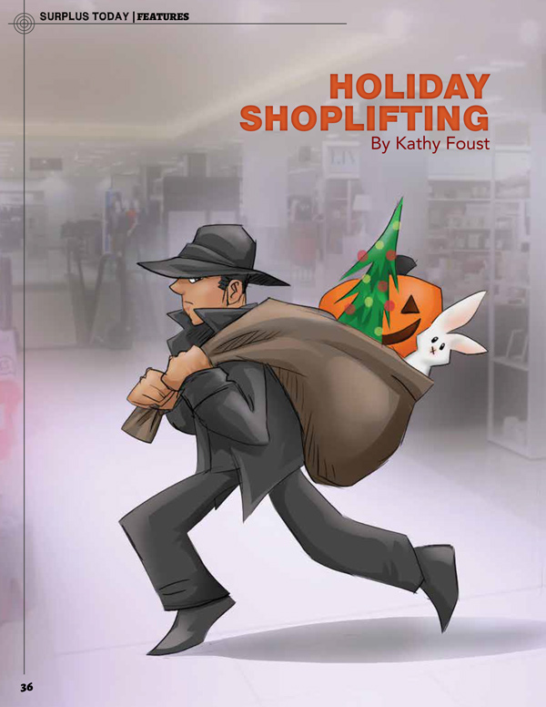 Surplus Today October Landing Page - Holiday Shoplifting